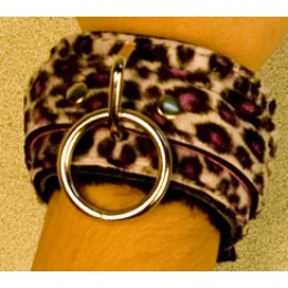 Love Cuffs - Animal print Fur Lining