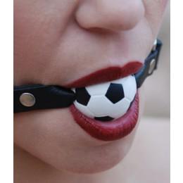 "Ball Gag 1"" Sports Series - Soccer Ball"""
