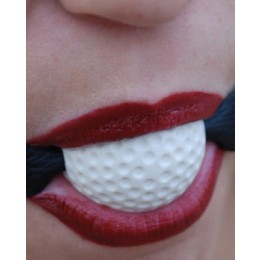 "Ball Gag 1"" Sports Series - Golfball"""