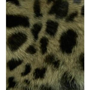 Bunny Fur Mitt - Cheetah