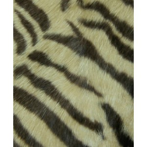 Bunny Fur Mitt - Tiger