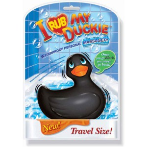 Travel Duckie - Black