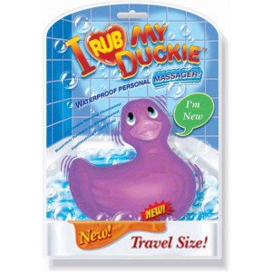 Travel Duckie - Purple